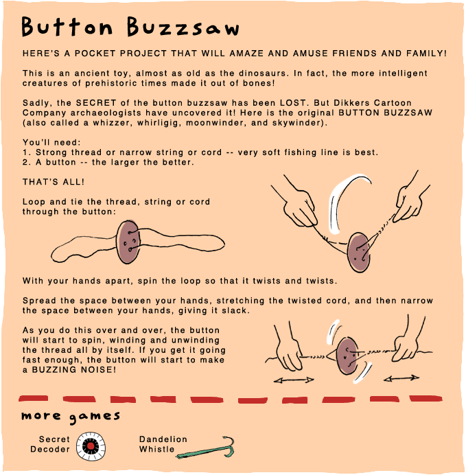 Button Buzzsaw